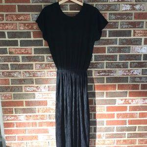 VINTAGE black formal dress